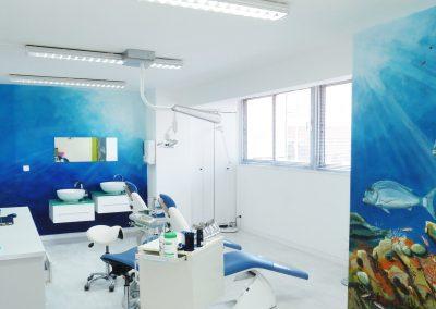 Salle clinique cabinet d'orthodontie